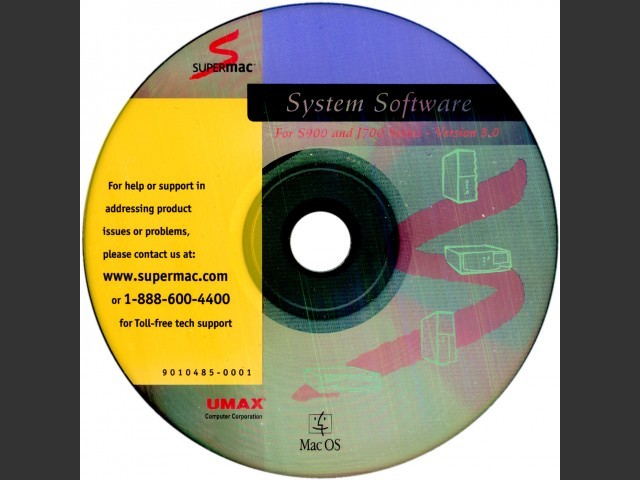 Mac OS 7.5.5 (Umax SuperMac S900 & J700 series) (1996)