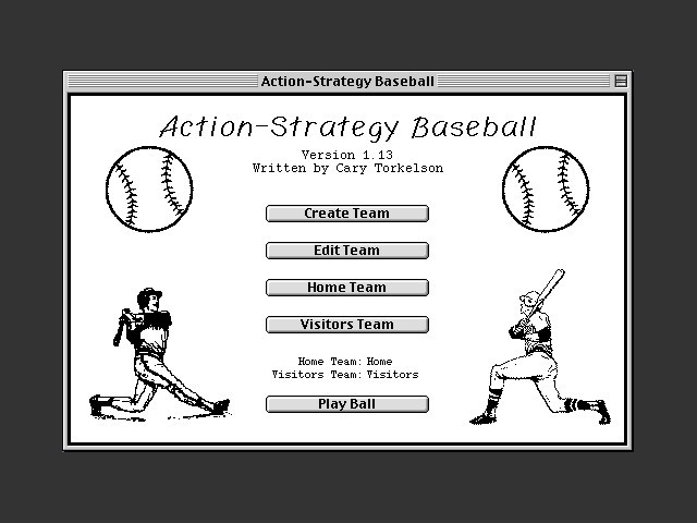 Action-Strategy Baseball (1994)
