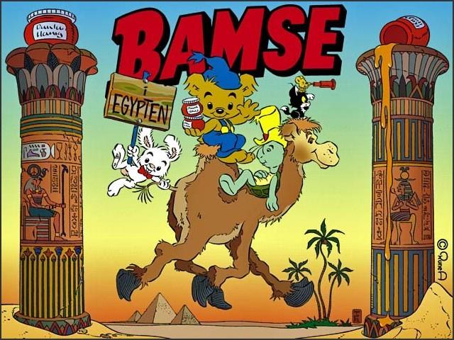 Bamse I Egypten (2002)