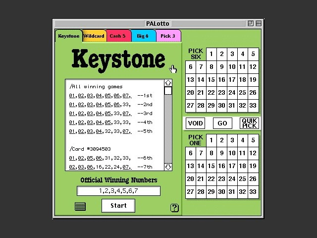 Keystone interface