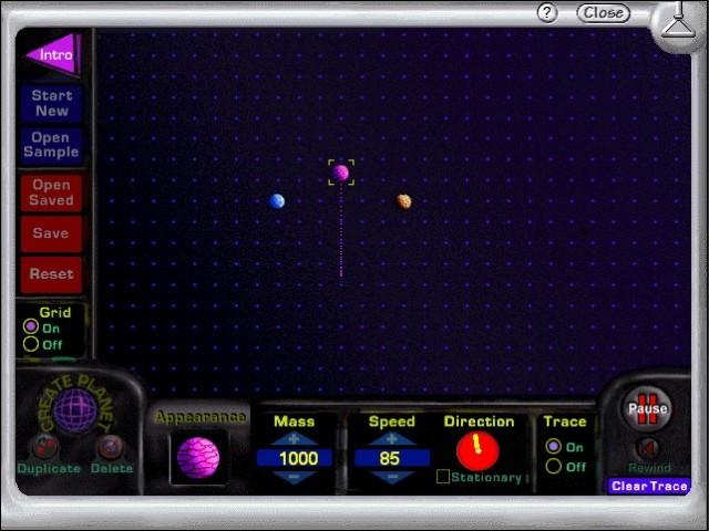 Planet gravitation laboratory