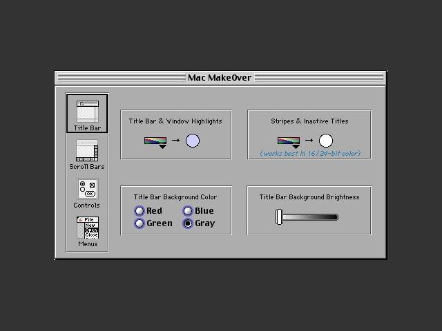 Mac MakeOver 1.2 (1992)