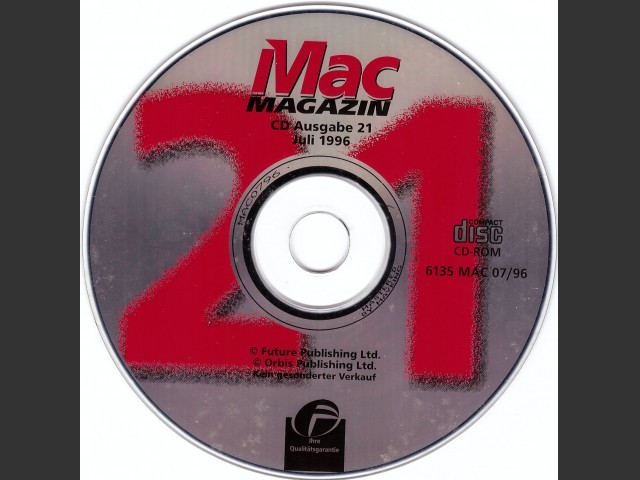 Mac Magazin 21 (1996)