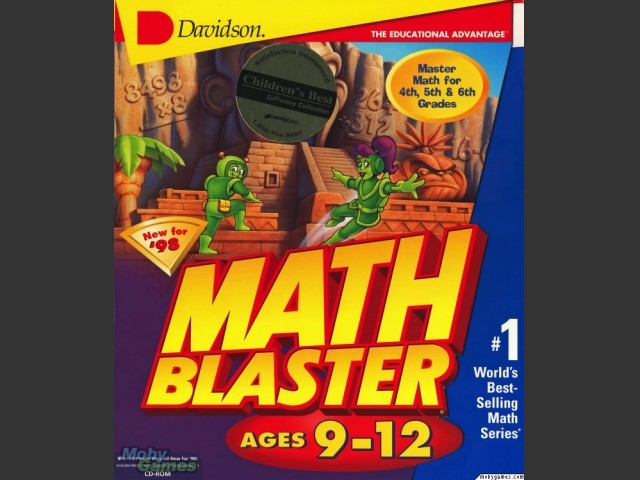 Math Blaster 9-12 - Macintosh Repository