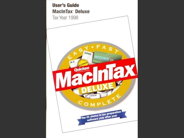 MacInTax 1998 (1999)