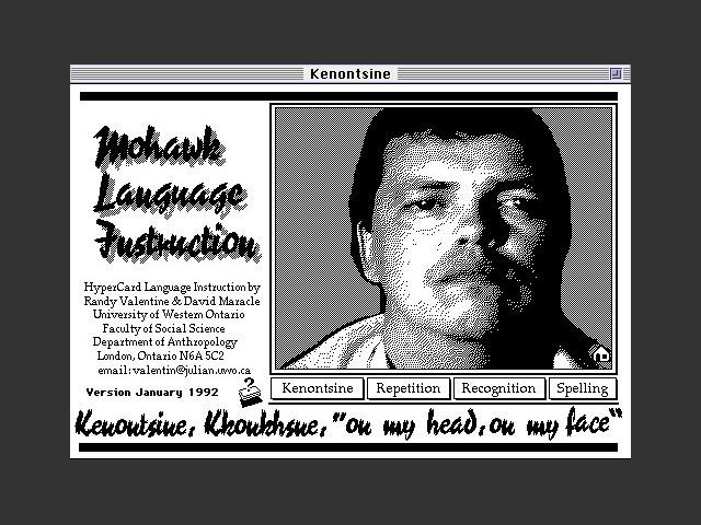 Kenontsine (1992)