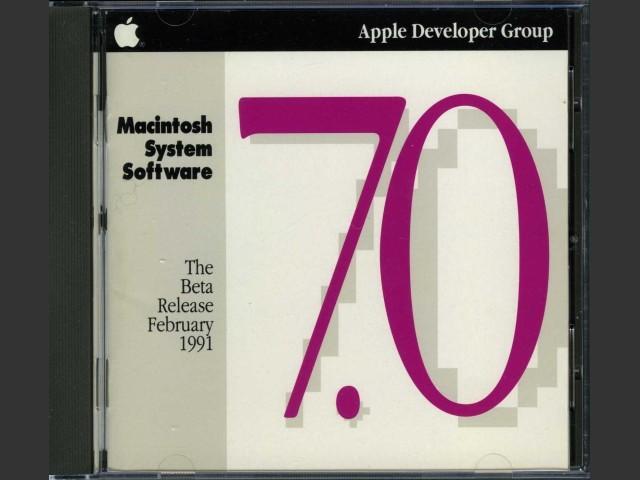 Mac OS 7.0b4 (February 1991) (1991)