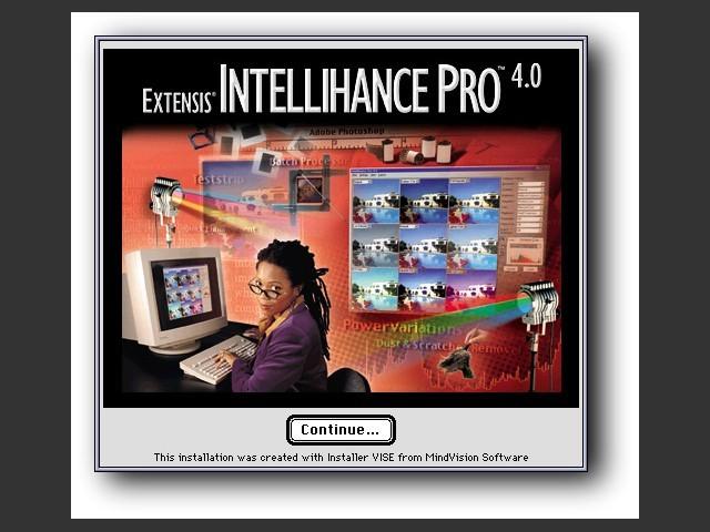 Extensis Intellihance Pro 4.0 (1999)