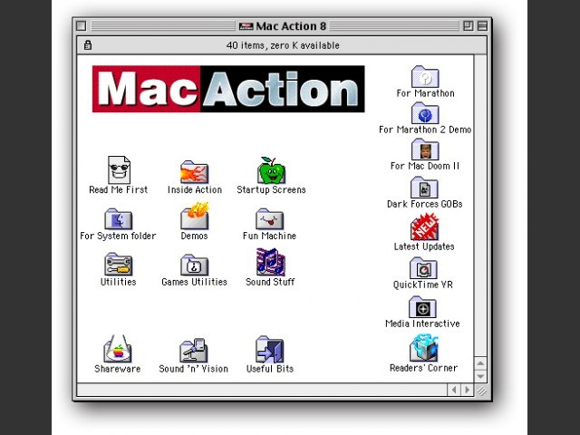 Mac Action 8 (Feb 1996) (1996)