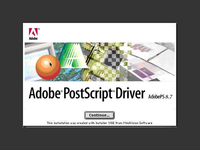 Adobe PostScript 8.7 Driver (2000)