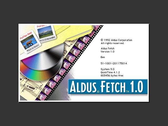 Aldus Fetch (1992)