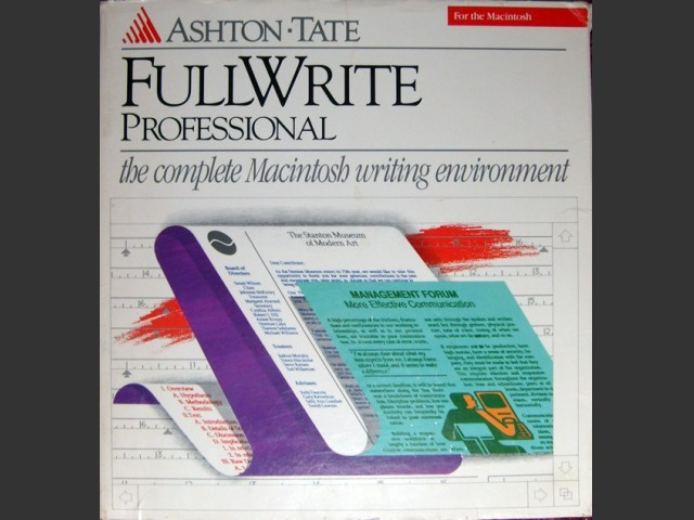 FullWrite Professional 1.1 (1988)