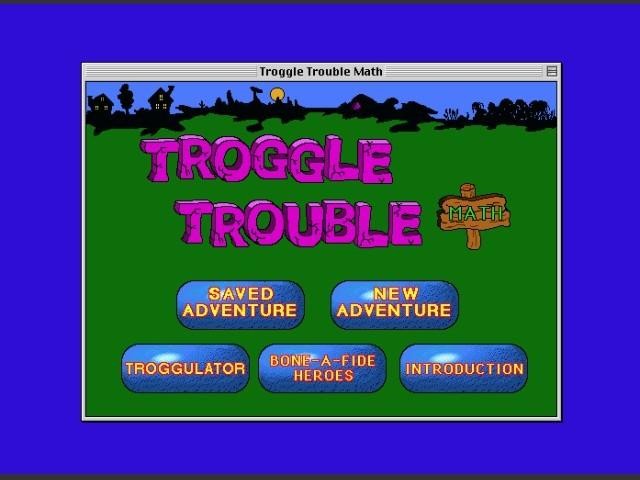 Troggle Trouble Math (1994)