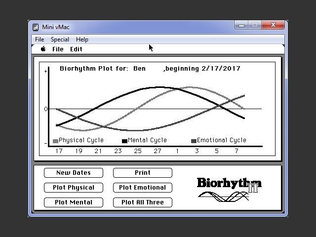 Biorhythm II (1987)