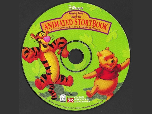 Disney's Animated Storybook: Winnie the Pooh and Tigger Too (1999)