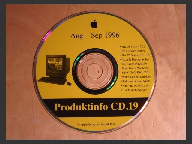 Produktinfo 19 (Germany) (1996)