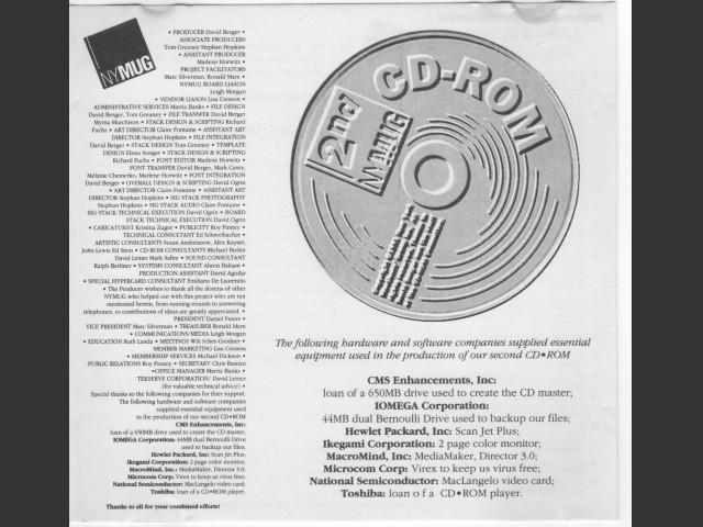 NYMUG CD (1991)