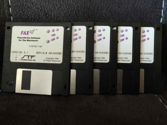 FAXstf 3.1 (1994)