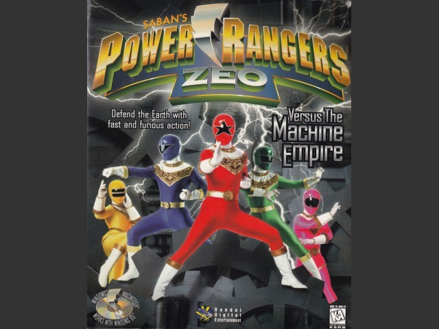 Power Rangers Zeo versus The Machine Empire (1996)