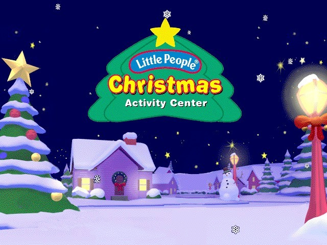 Fisher-Price Little People Christmas Activity Center (1996)