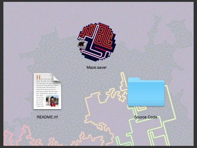Maze.saver (2000)