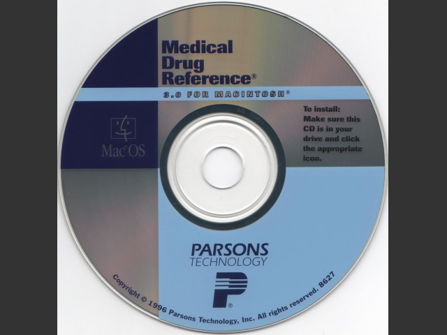 Medical Drug Reference (1996)