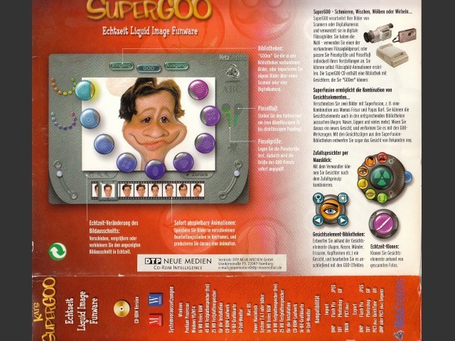Kai's Super Goo 1.0 (German) (1998)