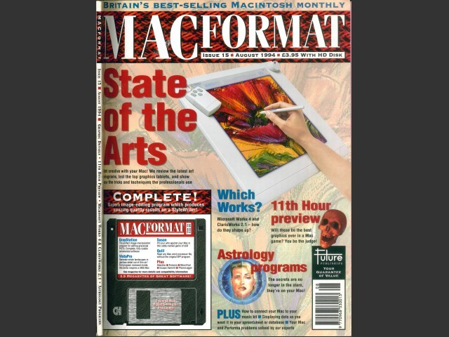 Mac Format 15 Cover