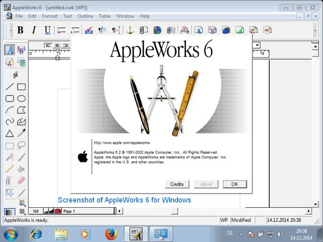 AppleWorks 6 for Windows (2002)