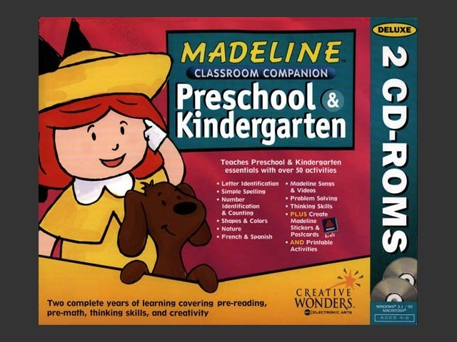 Madeline Classroom Companion: Preschool & Kindergarten (1997)