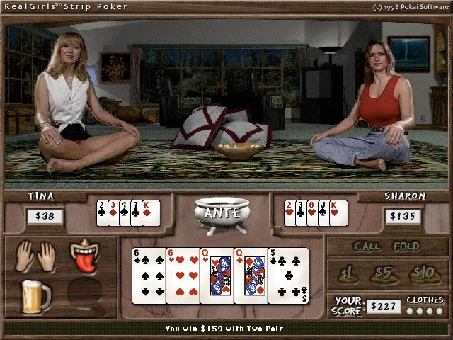 RealGirls Strip Poker (1998)