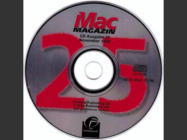 Mac Magazin 25 (1996)