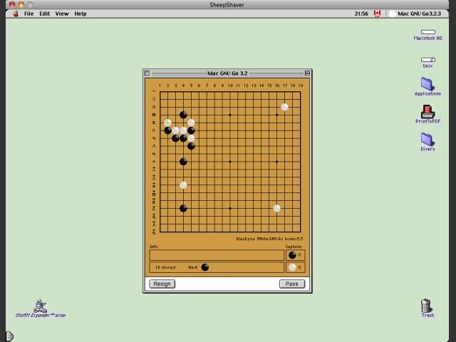 Mac GNU Go 3.2.3 (2003)