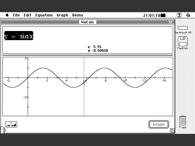 NuCalc 1.0 (Graphing Calculator 1.0) (1994)
