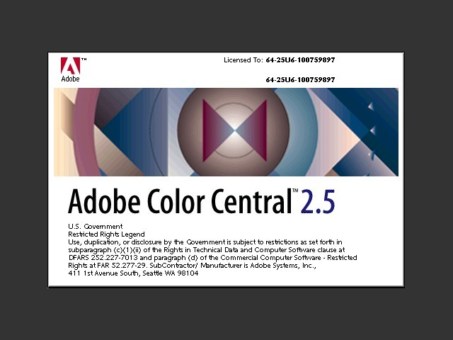 Adobe Color Central (1995)
