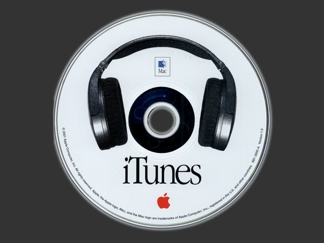 iTunes (for OS 9) (2001)