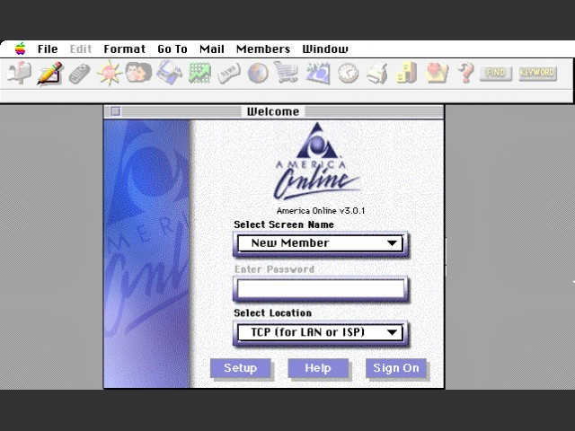 America Online 3 (1997)