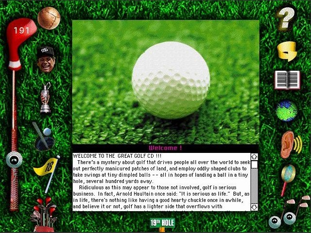 The Great Golf CD: Legends, Links & Lore (1994)
