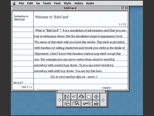EditCard (1999)
