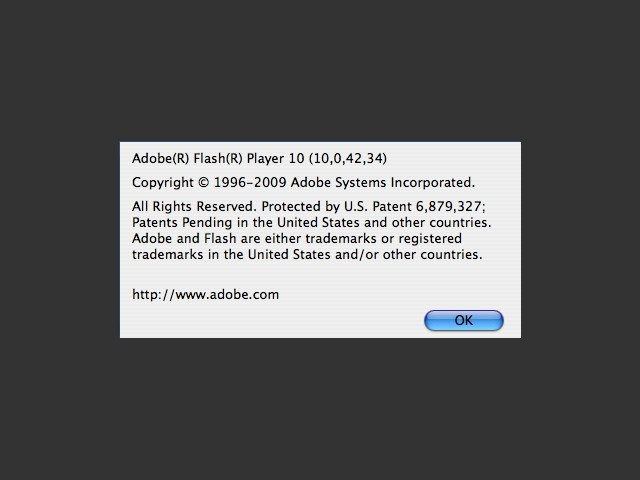 Adobe Flash Player 10.0 (2009)