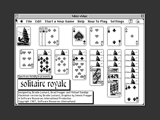 Solitaire Royale (1987)