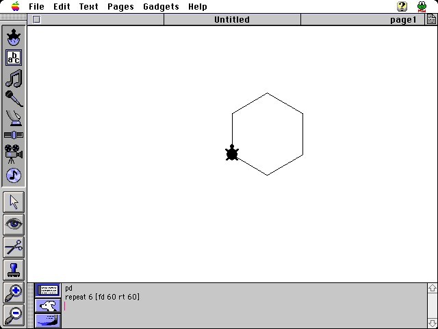 MicroWorlds 2.0.5 (1991)