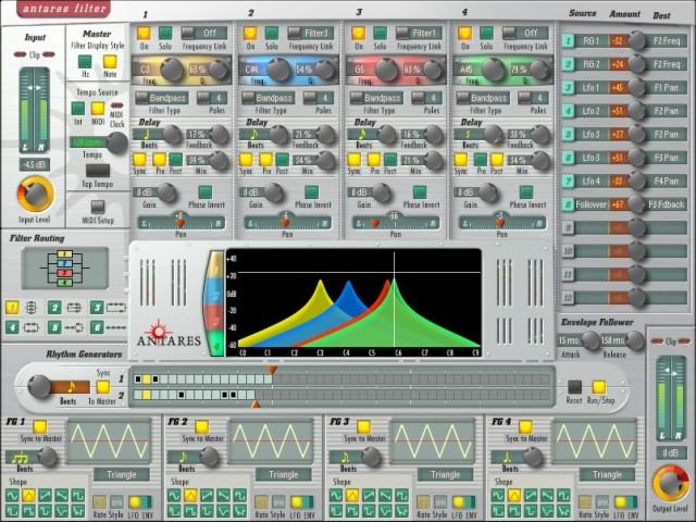 Antares Filter VST Mac Os9 (2009)