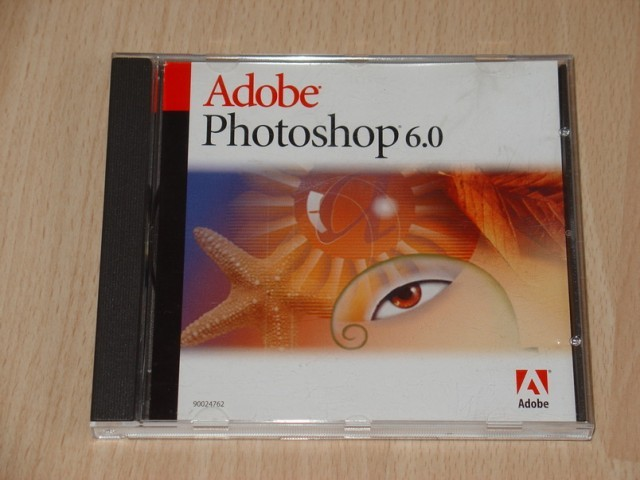 Photoshop 6.0 CD cover