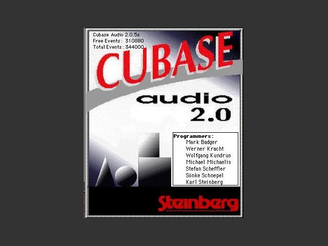 Cubase Audio 2.0