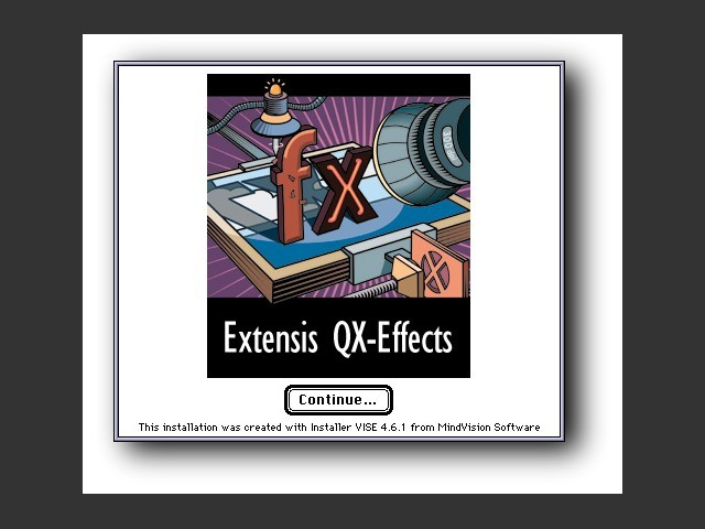 Extensis QX-Effects 3.0.2 (1998)