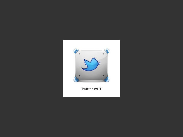Twitter WDT for PPC OSX (2013)