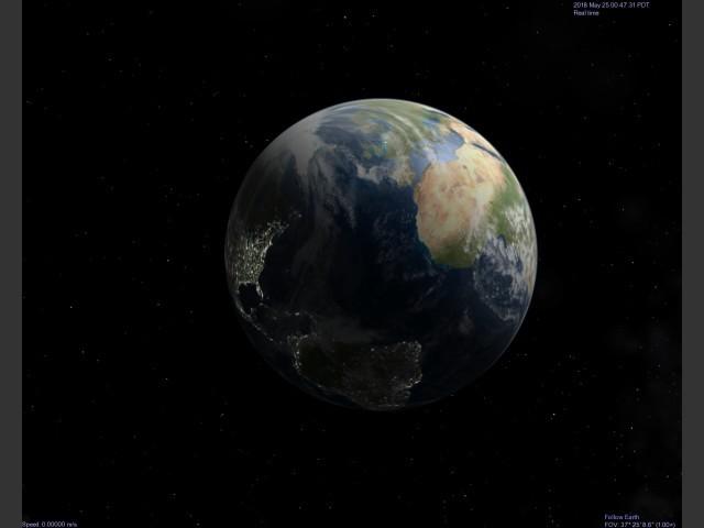 Celestia - 3D Planetarium Simulator (2004)