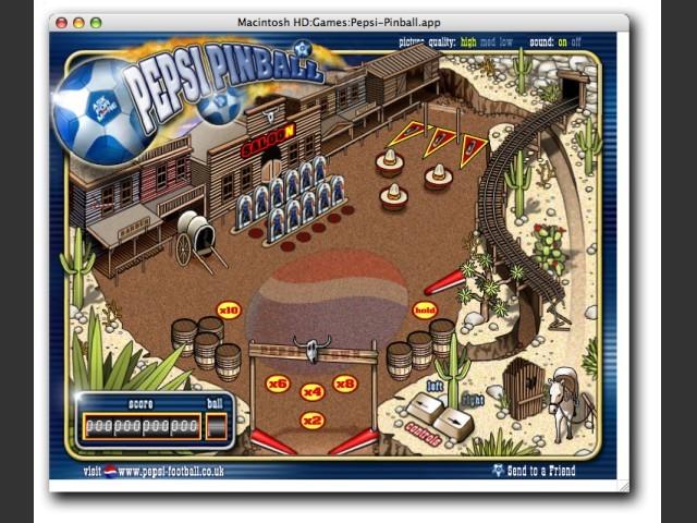 Pepsi Pinball (2001)