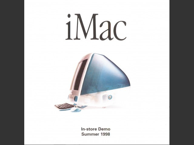 iMac In-store Demo Summer 1998 (1998)